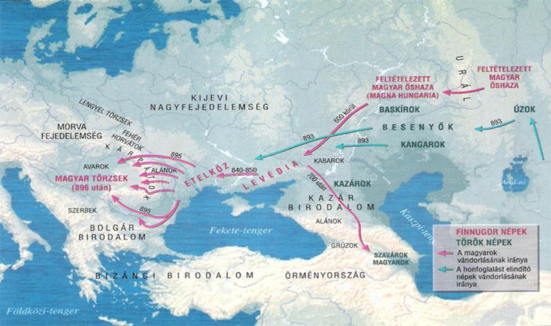 Ural hegység történelem