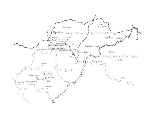 sajószentpéter térkép Svábok, cipszerek, bulénerek a Sajó völgyben sajószentpéter térkép