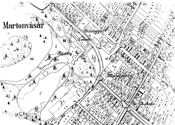 martonvásár térkép A falu épített világa martonvásár térkép