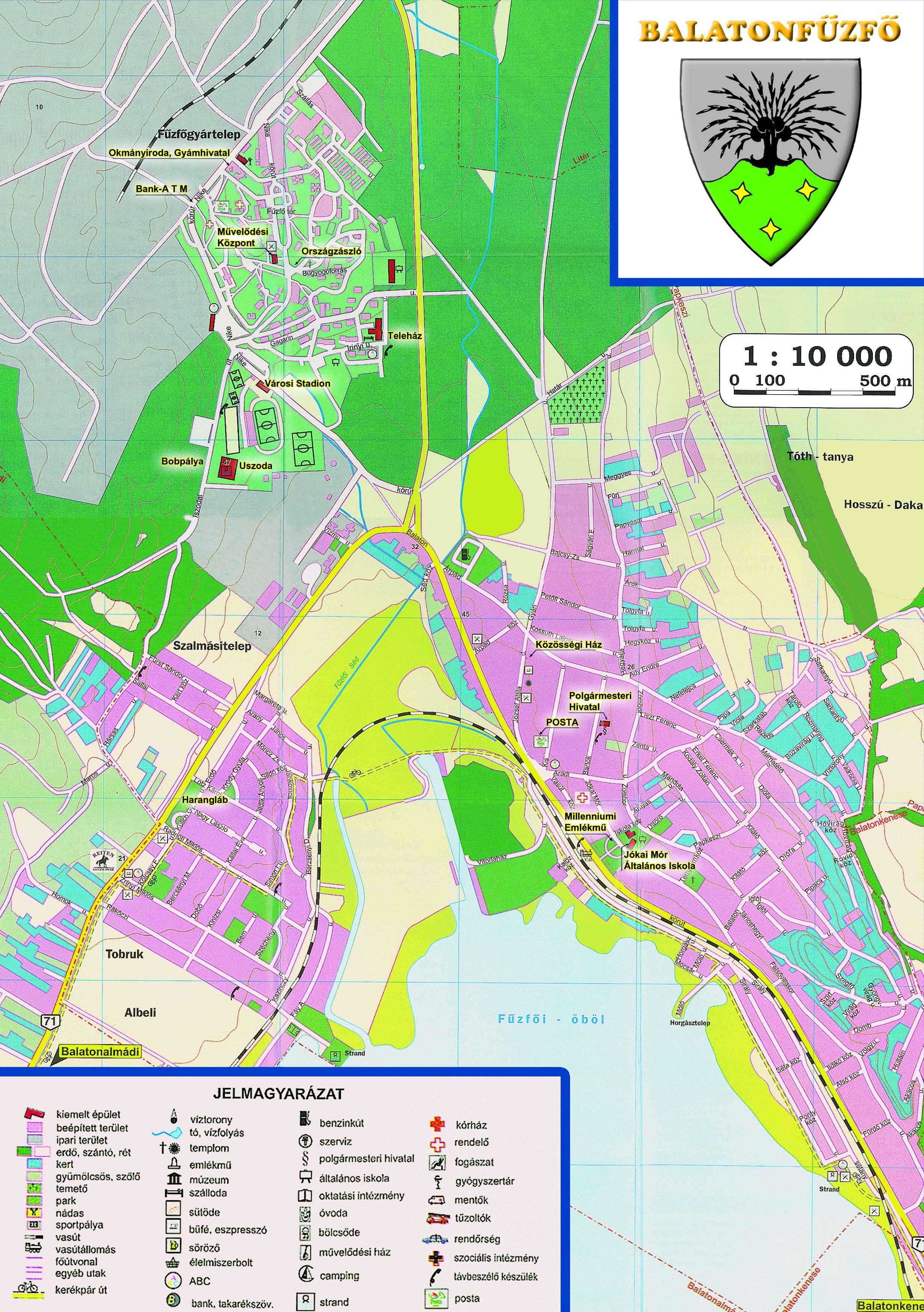 balatonfűzfő térkép Balatonfűzfő Város Öröksége balatonfűzfő térkép