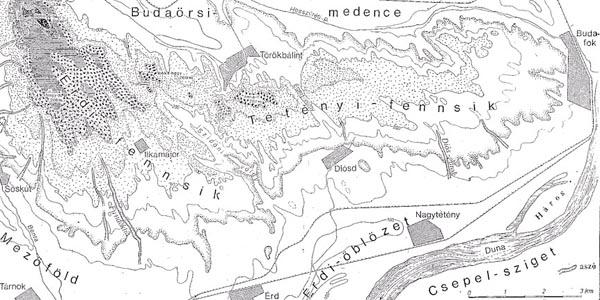 budaörs domborzati térkép Érdi földrajza budaörs domborzati térkép