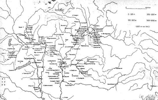 magyarország térkép sirok Gádoros Árpád kori település magyarország térkép sirok