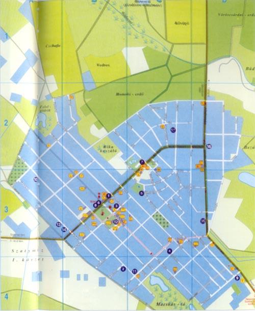 sándorfalva térkép Színes képek sándorfalva térkép