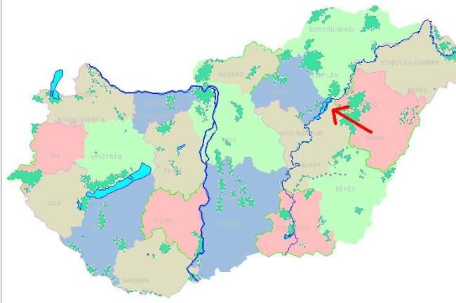 magyarország tisza tó térkép Tiszaszőlős természeti és települési viszonyai magyarország tisza tó térkép