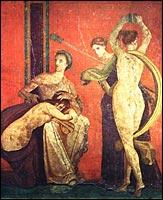 A megkorbácsolt asszony és a bacchánsnő